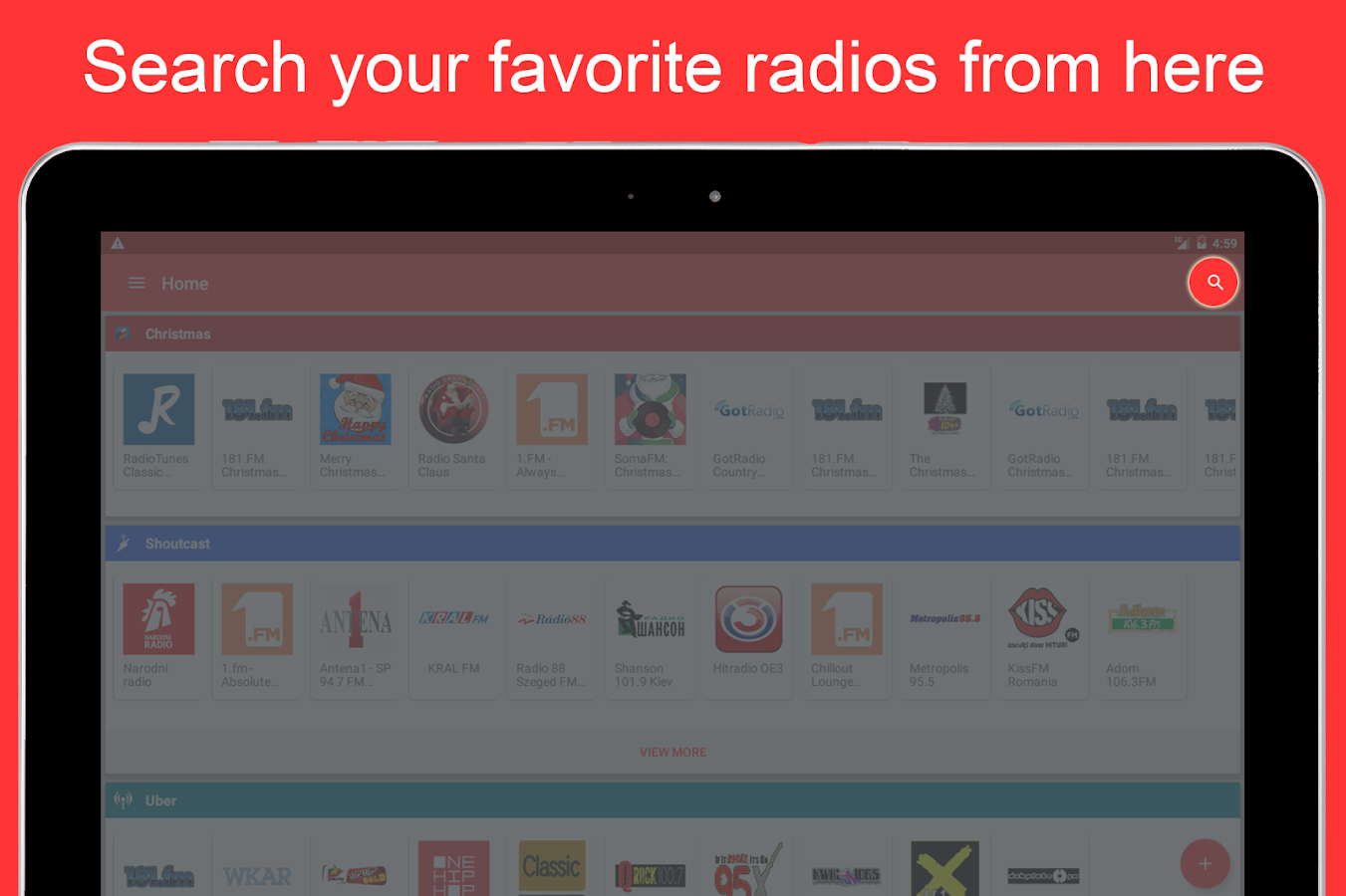 Internet Radio Player Screenshot 10