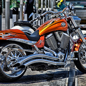 Victory by Peter Cannon - Transportation Motorcycles ( canon, bike, vehicle, motorcycle, transportation )