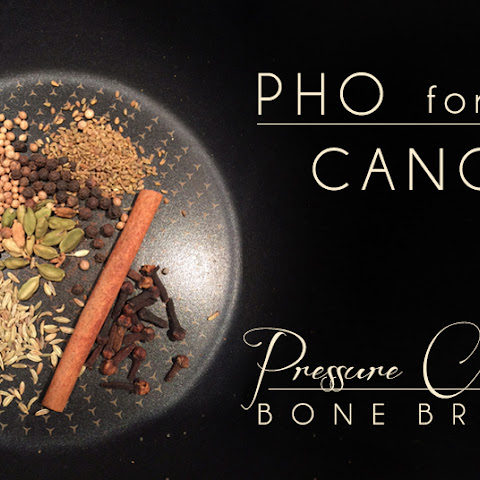 Pho-Flavored Pressure Cooker Bone Broth