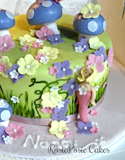 Flower Fairy Celebration Cake