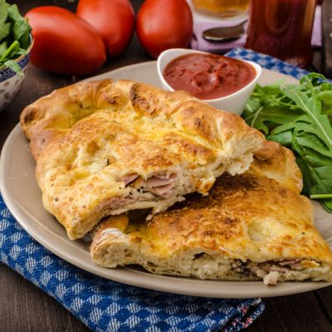 Canadian Bacon Calzone