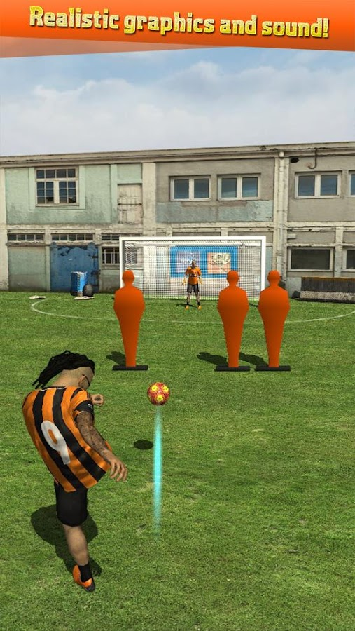 Street Soccer Flick Pro Screenshot 1