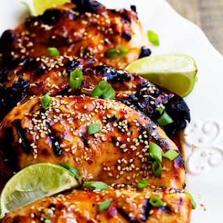 Grilled Sweet Chili Lime Chicken