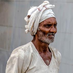 Man #1 by Hariharan Venkatakrishnan - People Portraits of Men