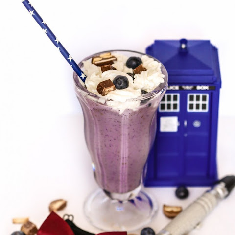 Doctor Who Candy Bar Shake
