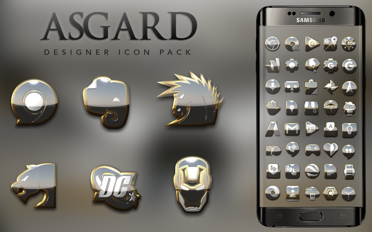 Asgard HD Icon Pack Screenshot 6