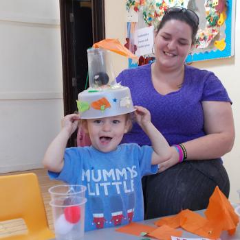 Rhiley's 1st Crafty Hour 22.08.15