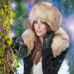 winter fashion shoot by Iancu Cristi - People Fashion ( fashion, woman, beauty )