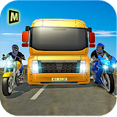 Download Racing Bike Truck Transport 17 APK