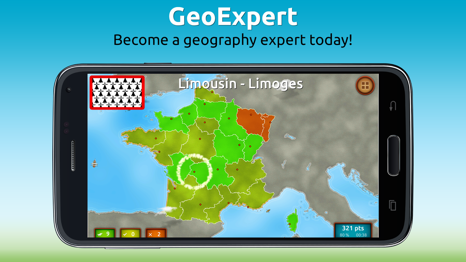 GeoExpert - France Geography Screenshot 4