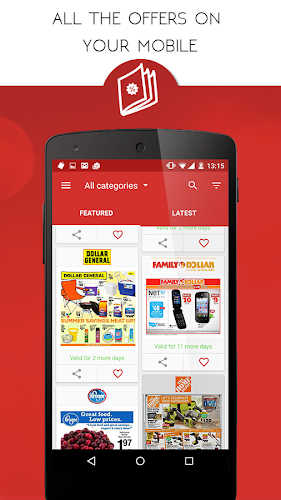 Tiendeo - Deals and Stores Android App Screenshot
