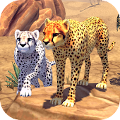 Download Cheetah Family Sim APK for Laptop