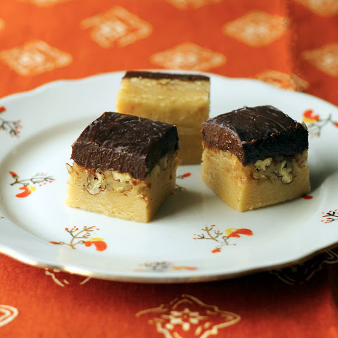 Irish Cream Fudge with Guinness Ganache