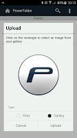 Screenshot of PowerFolder