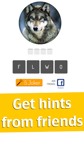 Animal Quiz Game - screenshot