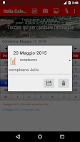 Screenshot of Italia Calendario 2015