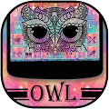 Free Colorful Owl Keyboard Theme APK for Windows 8