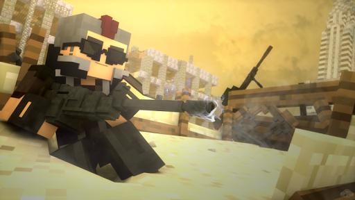 Guns Addon for MCPE 0.16+ For PC