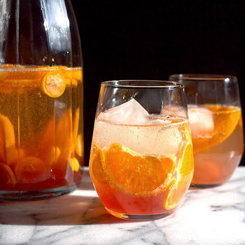 Sparkling and Spiced Citrus Sangria