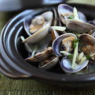 Drunken Clam (Manila Clams with Chinese Cooking Wine)
