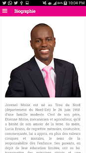 Jovenel Moise - screenshot