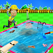 Swimming Pool Repair && Cleanup APK for Bluestacks