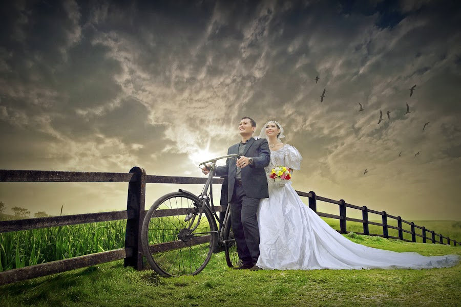 by Ukie Koswara - Wedding Bride & Groom