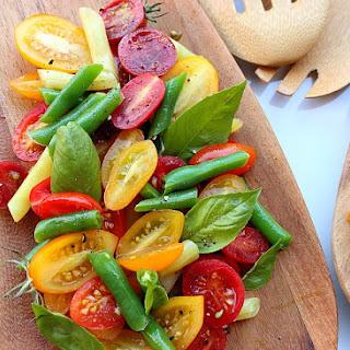 Tomato Green Bean And Basil Salad Recipes