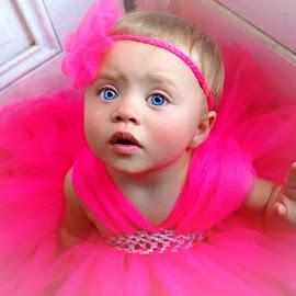 Princess in Pink by Cheryl Korotky - Babies & Children Child Portraits
