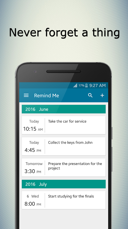 Remind Me - Task Reminder App Screenshot 1