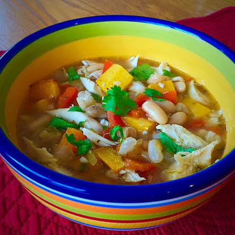 Low-Point Butternut-Squash Chicken Chili