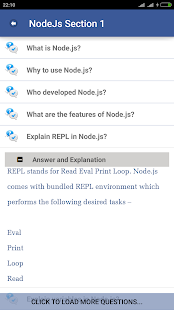 NodeJs Tutorial-FAQ - screenshot