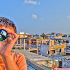 cyclops by Aravindh Ganesh - People Street & Candids ( hdr, cyclops, one, eyed, lens )