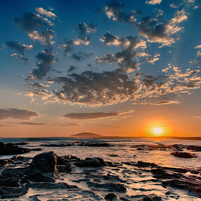 Seven Mile Beach by Ian Mills - Landscapes Sunsets & Sunrises ( hdr, sunsets, gerroa, nd filter )