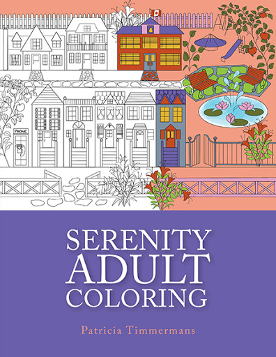 Serenity Adult Colouring cover