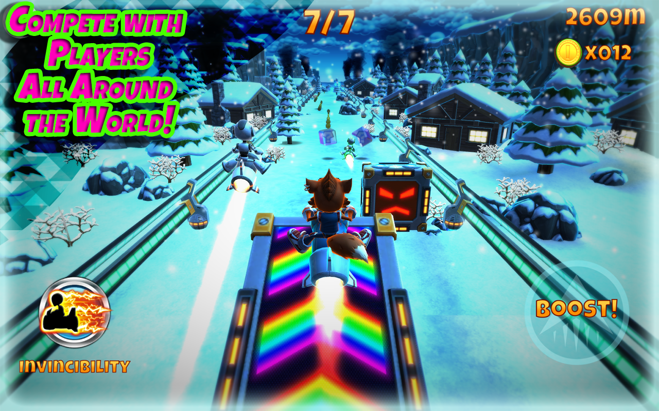 Rocket Racer Screenshot 2