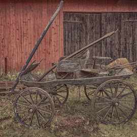by Tove Landberg - Transportation Other ( oldfashion, color, veteran, western, automobil )
