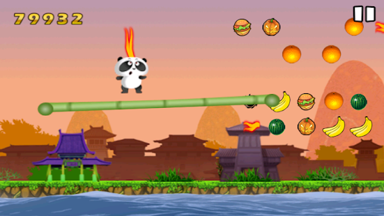 Trampoline Panda - screenshot