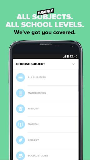 Brainly Homework Help & Solver screenshot 5
