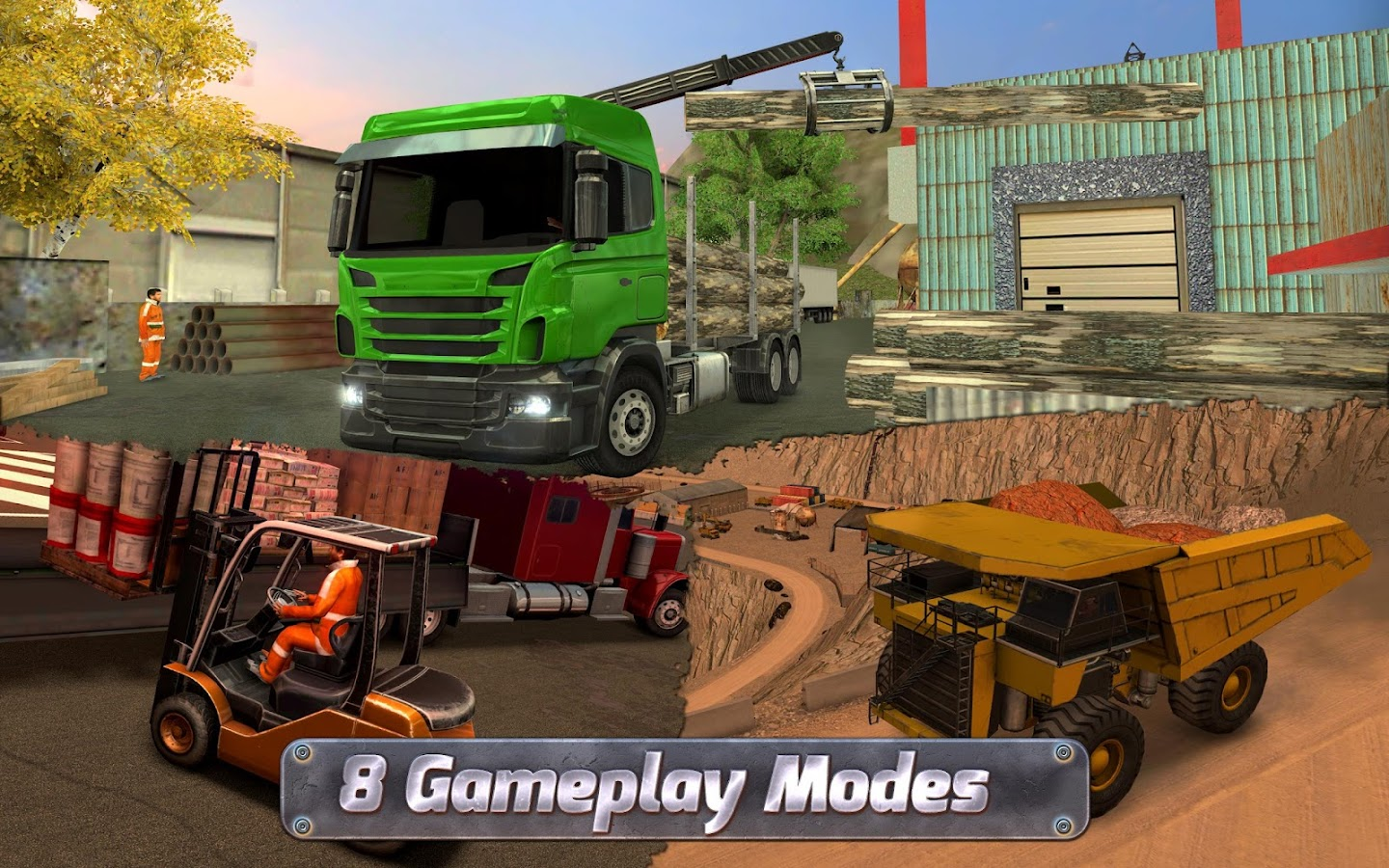 Extreme Trucks Simulator Screenshot 2