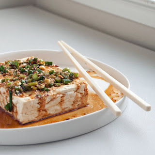 Warm Tofu With Spicy Garlic Sauce