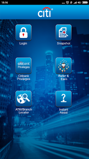 Citibank IN Screenshot