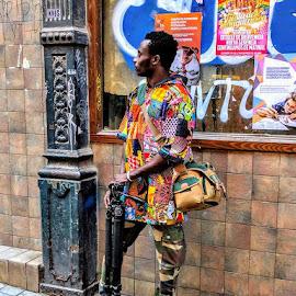 Dude by Stephen Lang - City,  Street & Park  Street Scenes