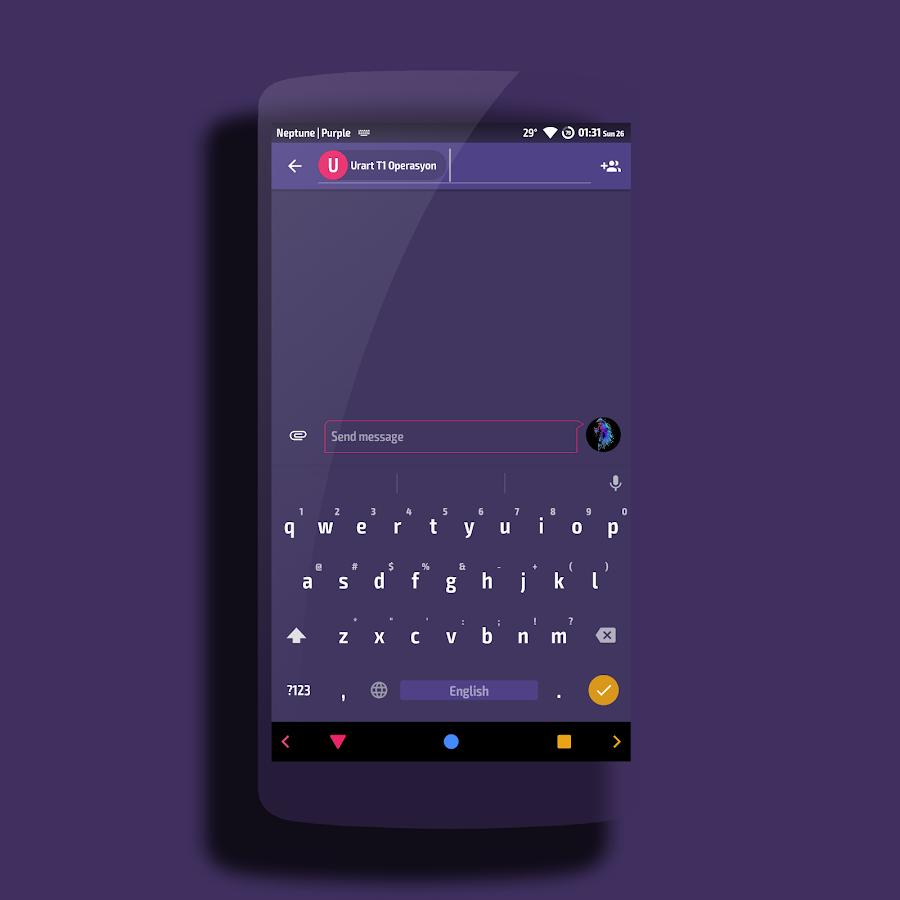 Neptune │Vibrant Theme CM13/12 Screenshot 4