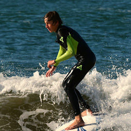 HB Surfer by Jose Matutina - Sports & Fitness Surfing ( orange county, surfer, california, sport, huntington beach )