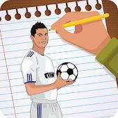 Download Draw Ronaldo 3d APK for Laptop