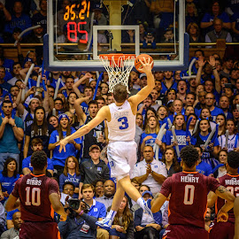 by Isaac Weitzhandler - Sports & Fitness Basketball ( college basketball, dunk )