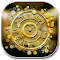 Gold Wallpaper Clock 5.4.0 Apk