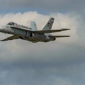 by Jan Gorzynik - Transportation Airplanes ( aerospace, army, f-18, airforce, flight, technology, speed, hornet, show, nato, military )