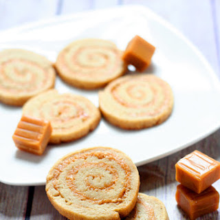 Caramel Cream Pinwheels- Christmas Cookies Recipes